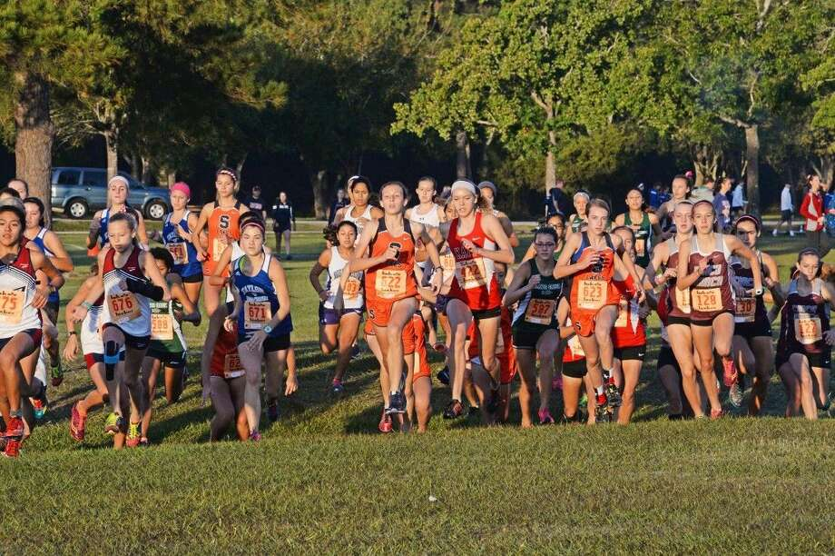 Champion Seven Lakes, Cinco Ranch and Katy qualified for the regional meet by ranking in the top three at the District 19-6A meet, Oct. 16 at Bear Creek Park. Visit HCNPics.com for more photos. Photo: Craig Moseley