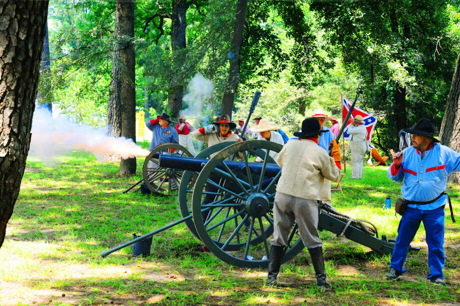 For more photos from the Heritage Festival at Spring Creek Park, go to http://tinyurl.com/hn24rl5. Photo: Tony Gaines