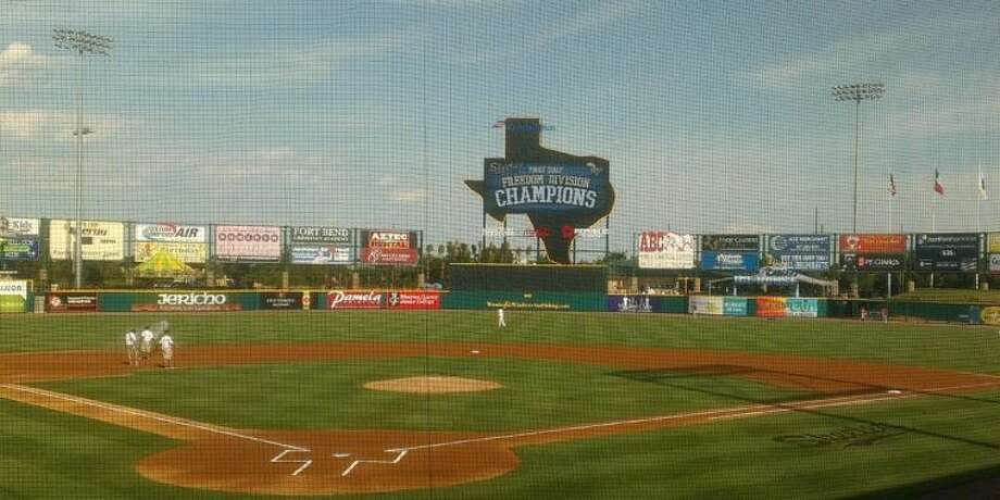 Constellation Field, home of the Sugar Land Skeeters, made the semifinals in a poll of independent league baseball stadiums conducted by Ballpark Digest. Fellow Atlantic League member Somerset won the vote. Photo: By Jack Marrion