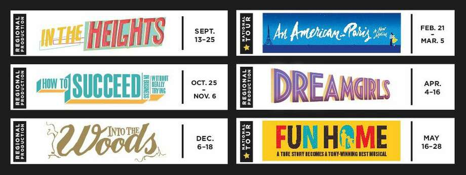 The new season of Theatre Under the Stars includes In The Heights, How to Succeed in Business Without Really Trying, Into the Woods, An American In Paris, Dreamgirls and Fun House.