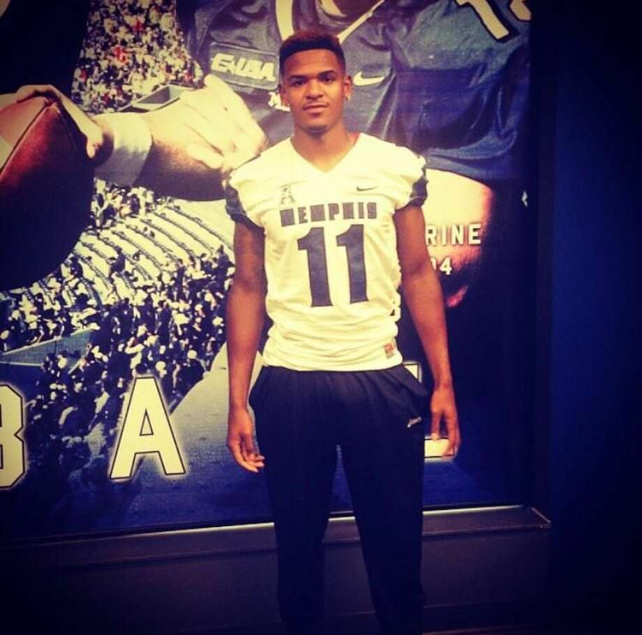 Atascocita's Tre Hamilton committed to Memphis on Thursday. Photo: Twitter