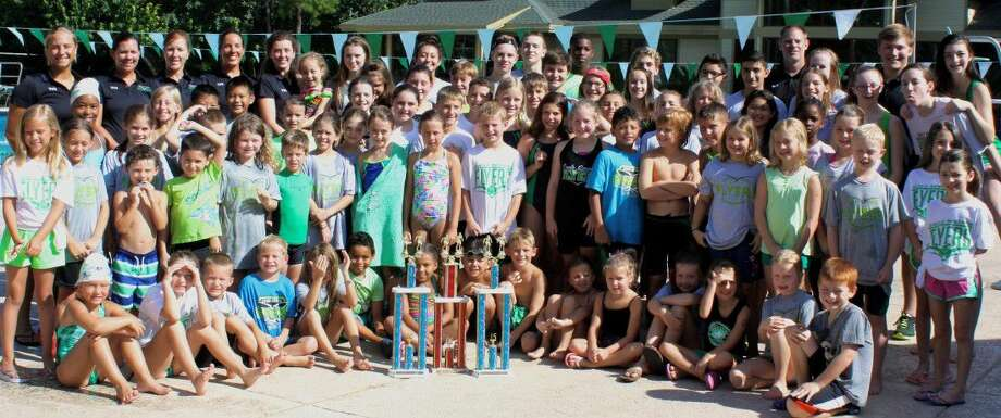 The Eagle Springs Flyers swim team just ended its regular season with a huge accomplishment. For the third year in a row, the team went undefeated and took first place at their divisional championship.