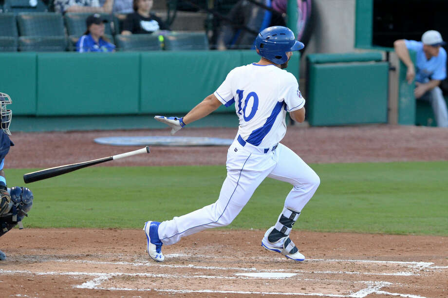 Kent Matthes homered and drove in three runs as the Sugar Land Skeeters defeated New Britain 9-6 in 12 innings on the road. The Skeeters return to Constellation Field on June 20 to begin a seven-game home stand. View additional photos at HCNPics.com Photo: Craig Moseley