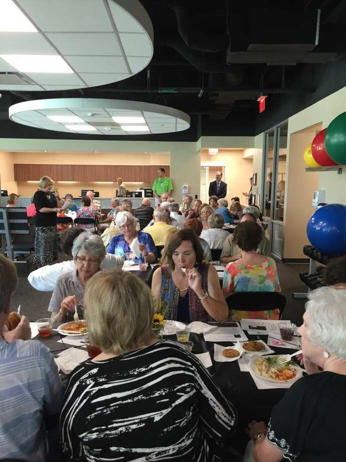 "Memorial Hermann Convenient Care Center in Cypress recently hosted dozens of Cypress' ""Classic Adults"" from the Good Shepherd United Methodist Church in Fairfield for a VIP luncheon and private tour of the Campus. Photo: Submitted"