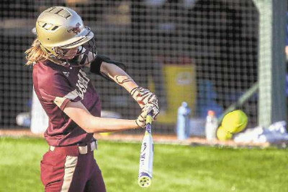 Magnolia West's Katilyn Goike was recently named first-team All-District 19-5A as an infielder. Photo: Michael Minasi