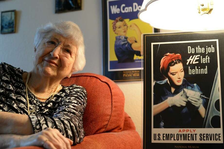 Ruth Mustion was an original member of the Rosie the Riveter movement during World War II. She remembers the experience with pride.
