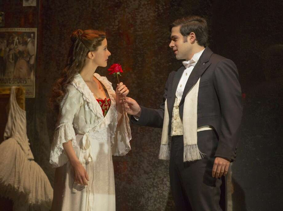Katie Travis as Christine Daaé and Storm Lineberger as Raoul in The Phantom of the Opera. Broaday Across American at the Hobby Center will bring the show to Houston Nov. 18-19. Photo: Courtesy Photo
