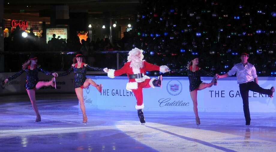 The Galleria will officially kick of the holidays as it hosts the 27th Annual Tree Lighting and Ice Spectacular on Saturday, Nov. 14, at 6 p.m. at ICE at The Galleria. Photo: Courtesy Photo