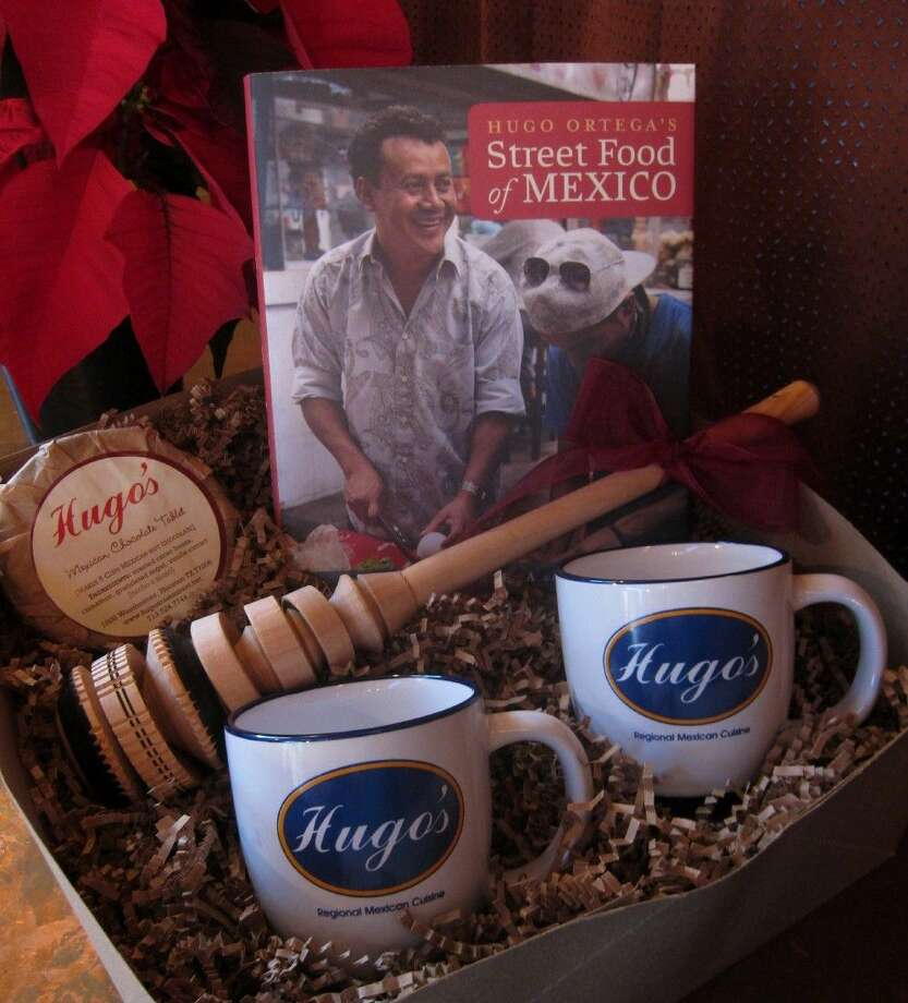 The award-winning restaurant Hugo's offers gourmet gift sets this holiday season. It's filled with picks from Hugo Ortega and Tracy Vaught.