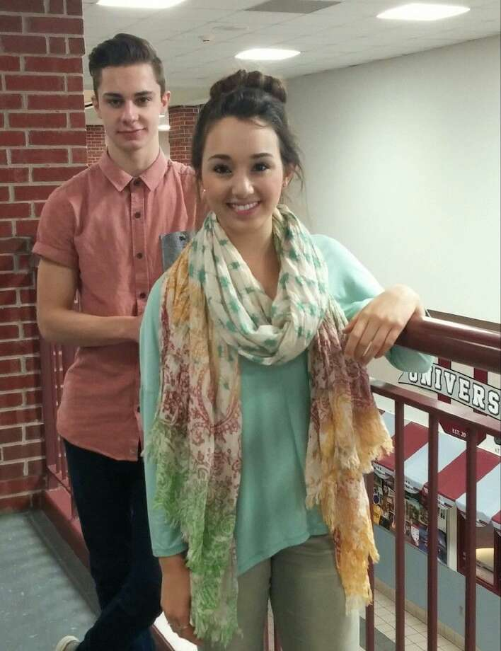 Magnolia High School seniors Jay Martin and Sarah Swift have both achieved National Merit status. Photo: Submitted