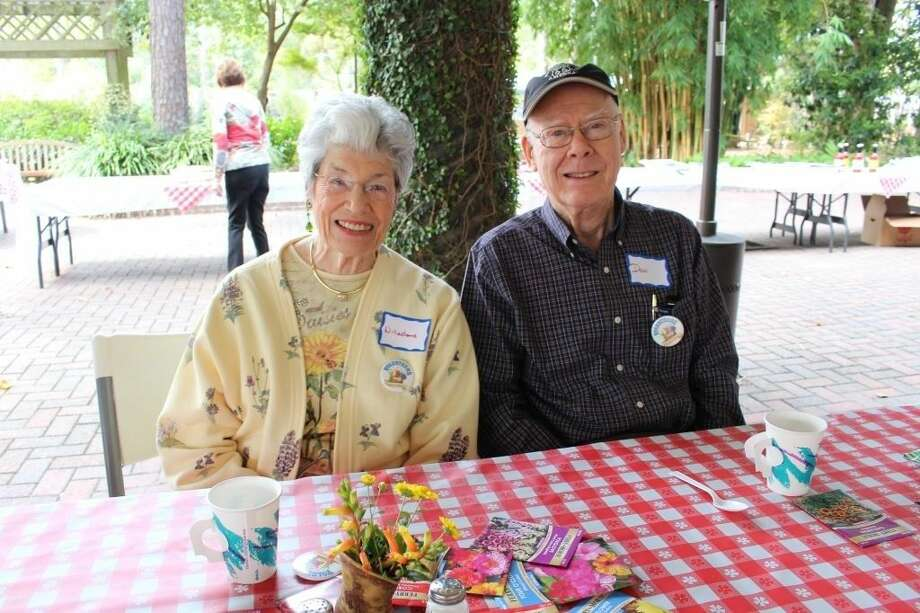 Mercer volunteers Willadene and Don Graves enjoy the appreciation luncheon. Photo: Submitted Photo