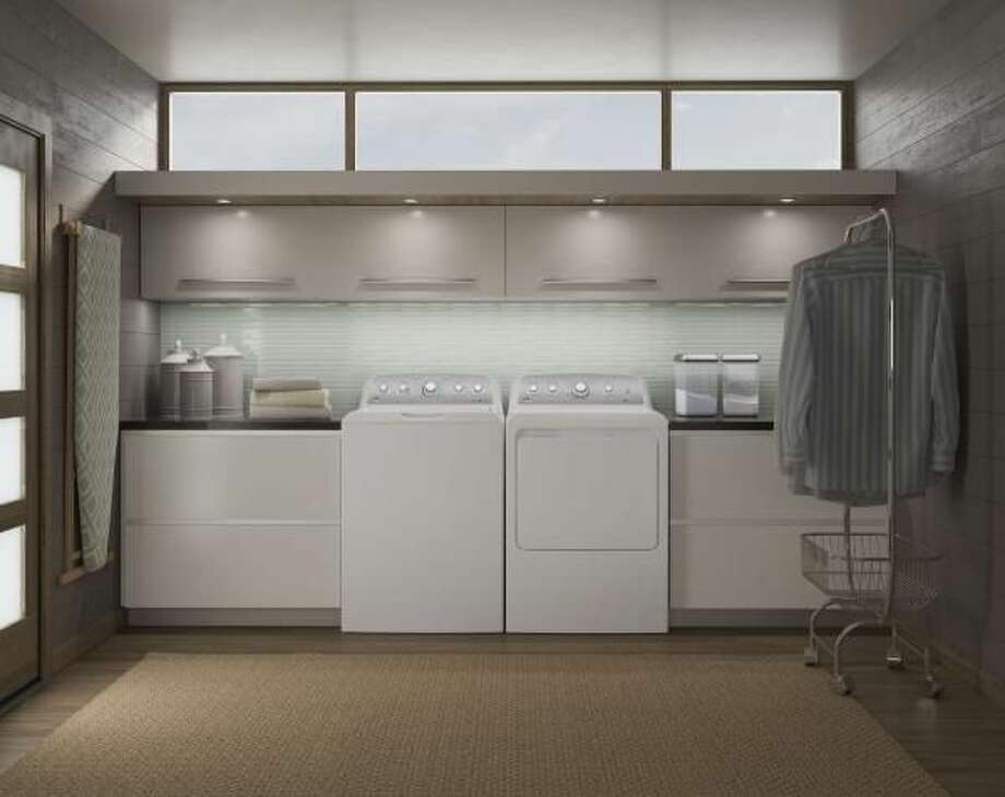 Large capacity appliances can help streamline chores when you're busy.