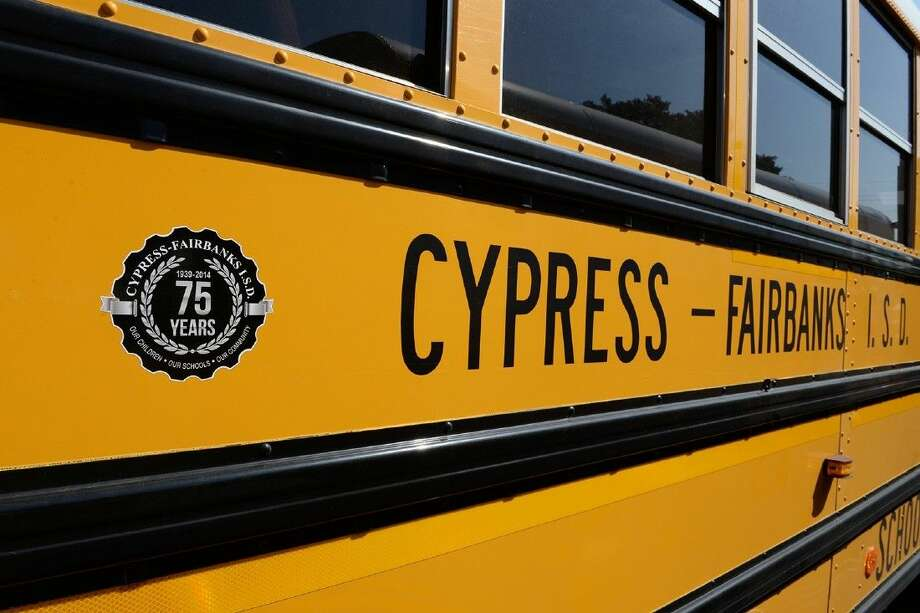 All CFISD school buses have been affixed with a 75th anniversary seal to commemorate 75 years of excellence during the 2014-2015 school year. Photo: Submitted Photo
