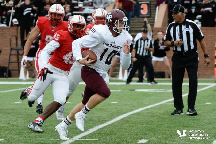 Cinco Ranch in action versus Kayt HS at Rhodes Stadium, Katy, TX on 11/7/2015 Photo: Craig Mosely