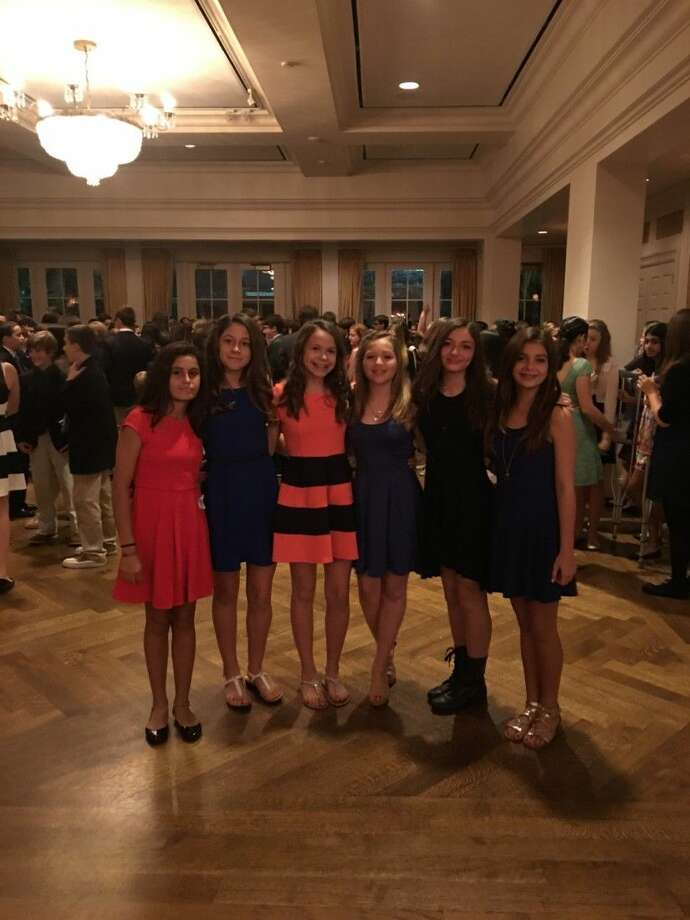 From left, St. Vincent de Paul students Alyssa Cortez, Isabella O'Malley, Makenzie Olsen, Molly Oubre, Brooke Bickham and Emma Burrow.