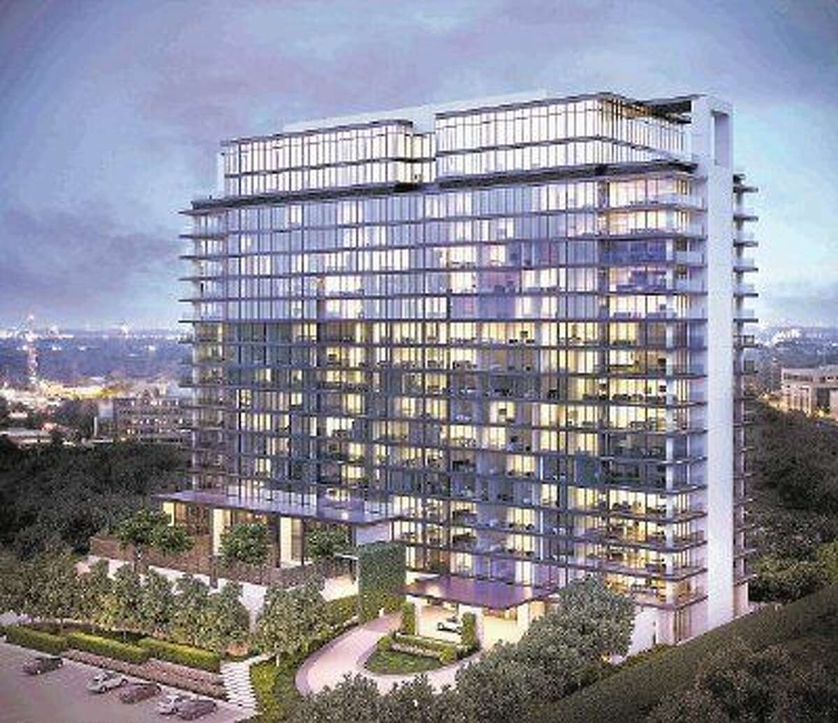 The River Oaks condominiums planned for completion in 2017, is a 250,000 square-foot luxury condominium, located at 3433 Westheimer, between Edloe and Buffalo Speedway, in the heart of River Oaks.