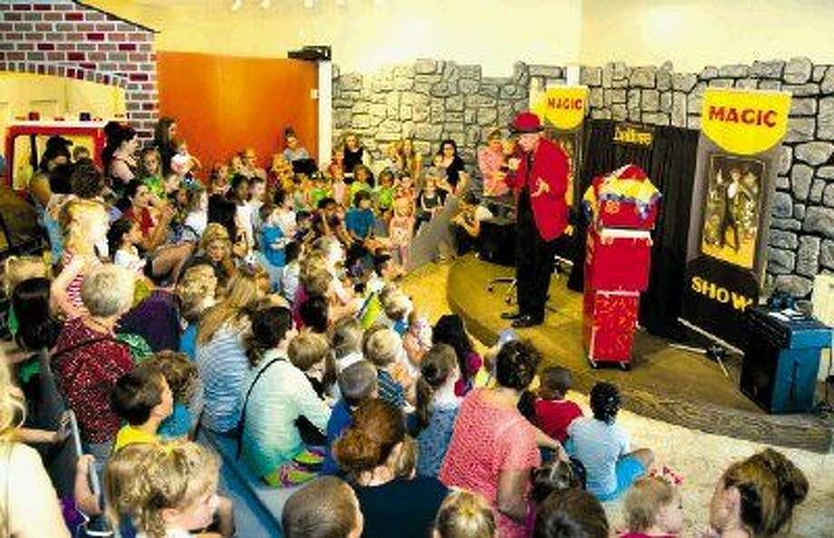 The Woodlands Children's Museum is dedicating a day to magic - offering up magical learning experiences and exciting feats of illusion. Local magician Professor Hughdini will take the stage at 11 a.m.