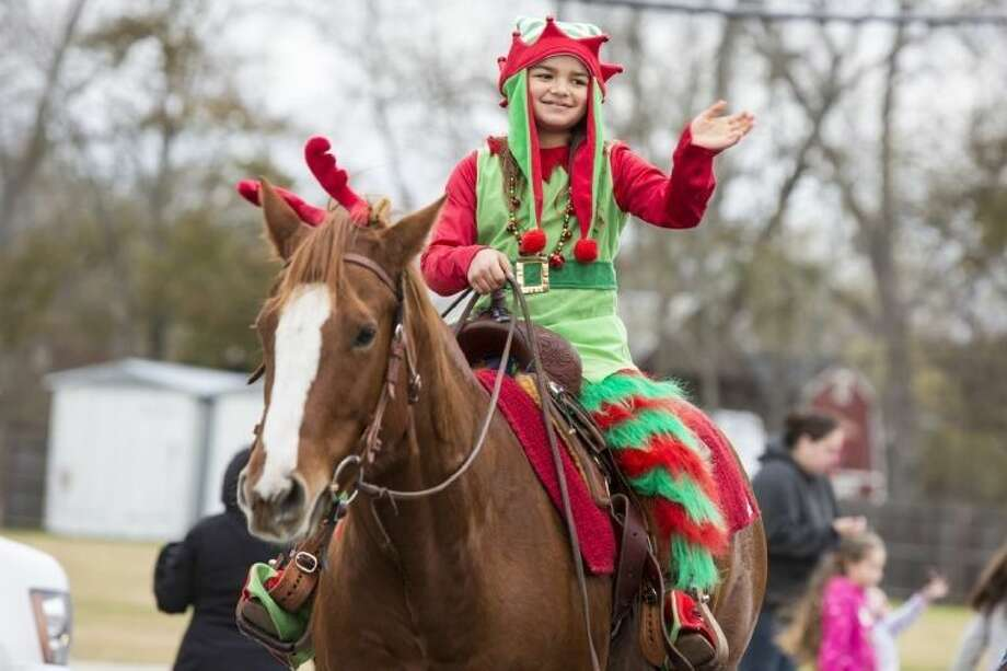 Scenes from last year's Christmas Parade.