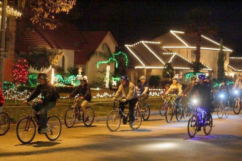 Keep Pearland Beautiful will host its 21st Annual Tour de Lites Family Bicycle Ride on Saturday, Dec. 13. Photo: Kar Hvala