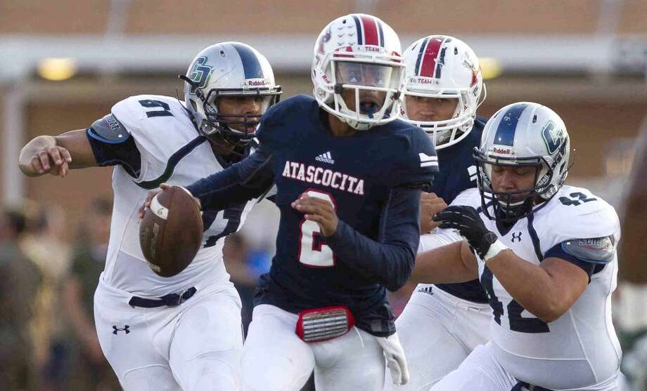 Atascocita junior quarterback Daveon Boyd  Photo: Jason Fochtman