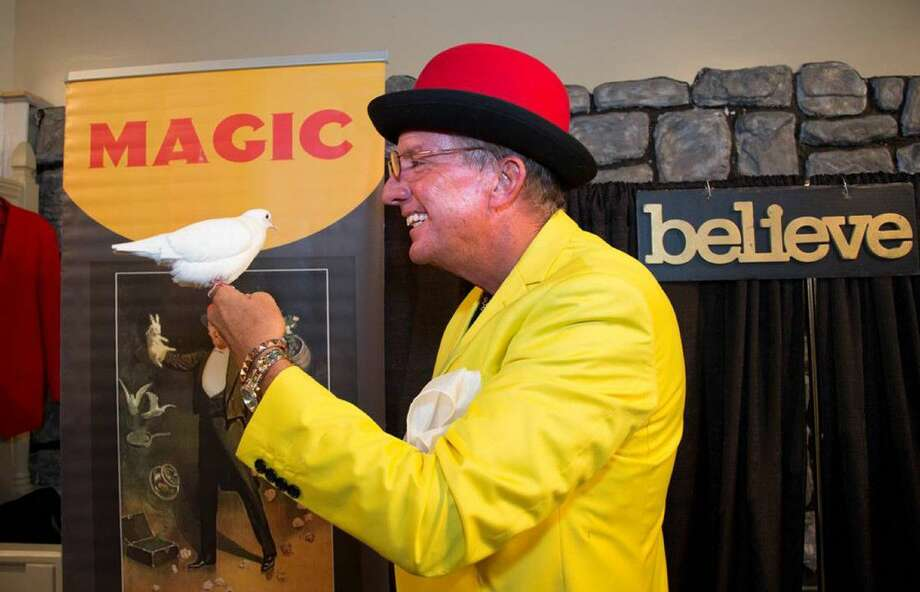 Professor Hughdini will appear and perform feats of magic at The Woodlands Children's Museum on July 27 during four shows scheduled throughout the day. Photo: Courtesy Photo