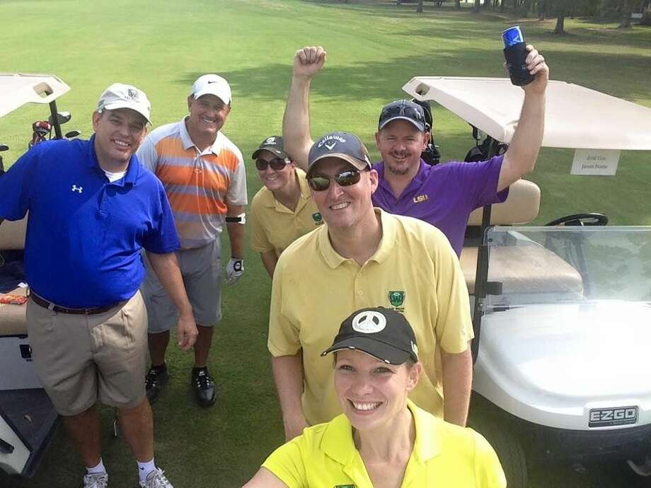 Volunteers and golfers at the Ray Walsh Memorial Golf Tournament 2015 @ the Golf Preserve of Atascocita