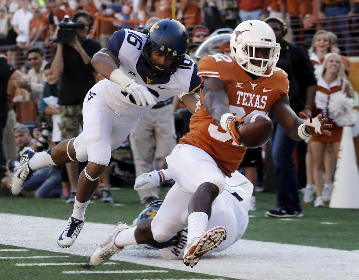Texas running back Johnathan Gray (32) and the rest of the Longhorns will play host to TCU tonight in Austin.
