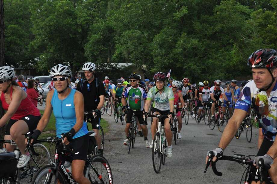Hundreds from across Texas take part in the annual Burn Your Buns Bike Ride benefiting Bridgewood Farms, scheduled for July 4.