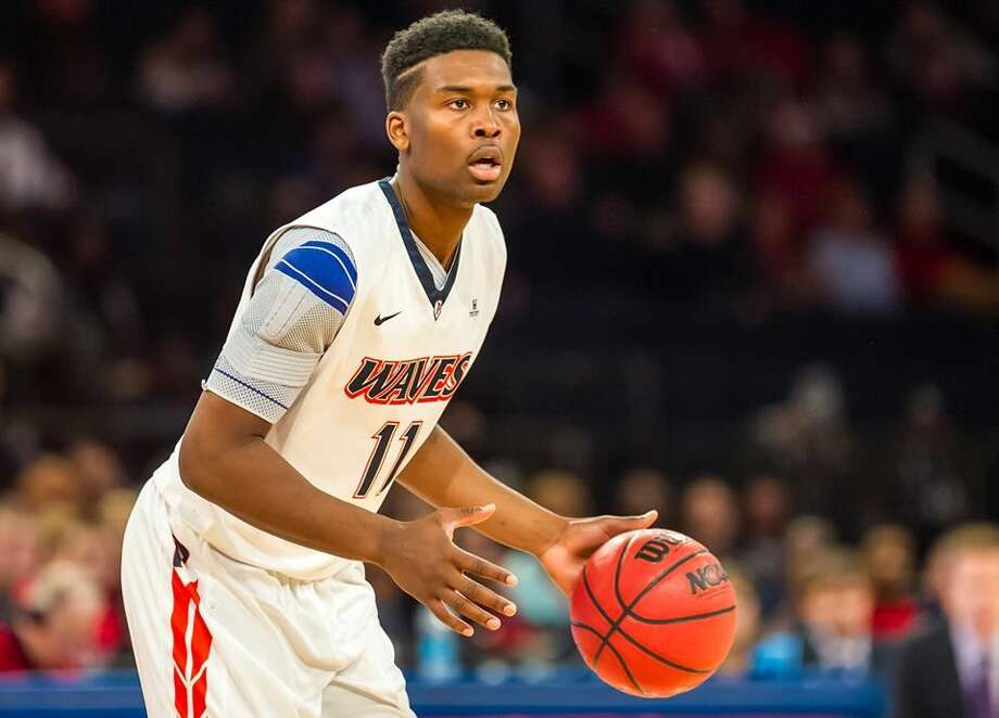Seven Lakes graduate Atif Russell joins the Houston Baptist University men's basketball team as a graduate transfer from Pepperdine, earning immediate eligibility. Russell spent four years at Pepperdine but missed most of his senior year due to injury. Photo: Pepperdine Athletics
