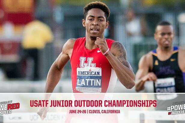 Fort Bend Marshall graduate and University of Houston hurdler Amere Lattin won a silver medal at the USATF Junior Championships, qualifying for the IAAF World Junior Championships.