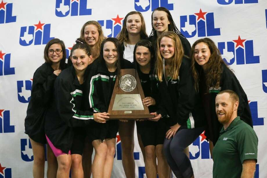 Stratford takes 2nd overall during the 5A UIL State Swimming and Diving Championships on Saturday at the Lee and Joe Jamail Texas Swimming Center in Austin. To view more photos from the tournament, check out the photo galleries on HCNPics.com. Photo: Michael Minasi