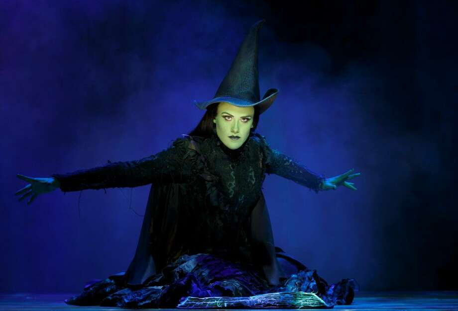 Emily Koch as Elphaba.