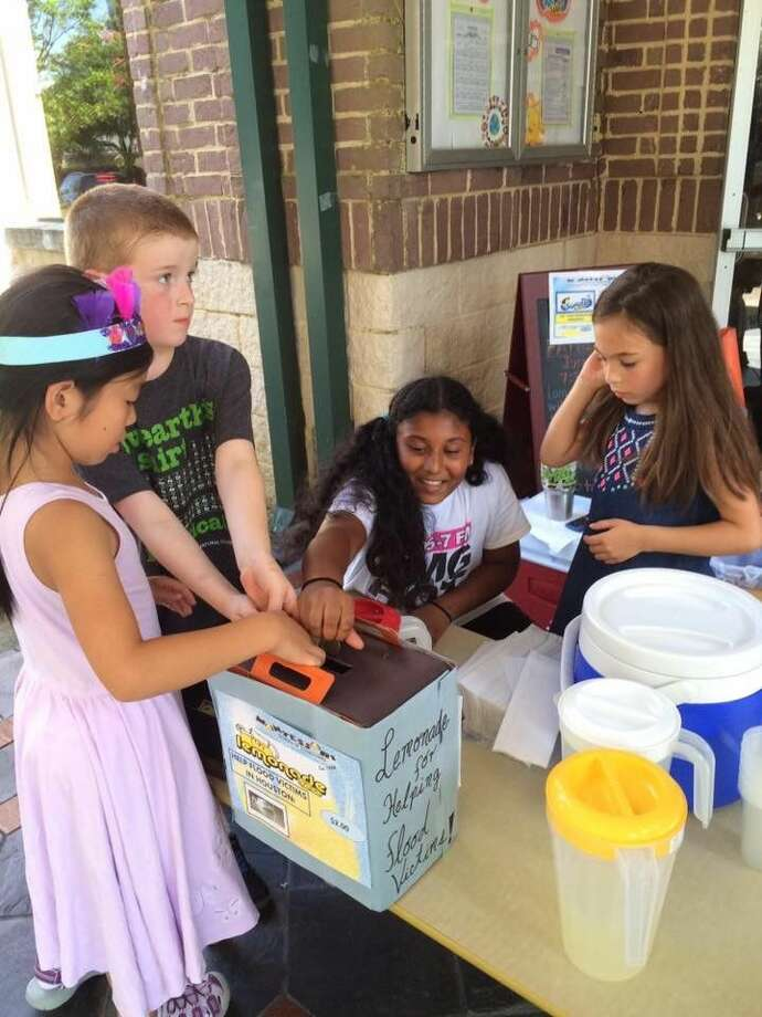 Montessori School of Downtown Silverlake Campus students developed a creative way to help their fellow Houstonians - a lemonade stand! Last Thursday, the elementary students of MSODT made and sold 306 worth of lemonade at their school campus in Pearland. The school partnered with the Houston Food Bank and donated all proceeds to help local flood victims.