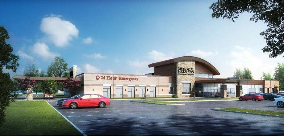 Rendering of Memorial Hermann Convenient Care Center in League City.