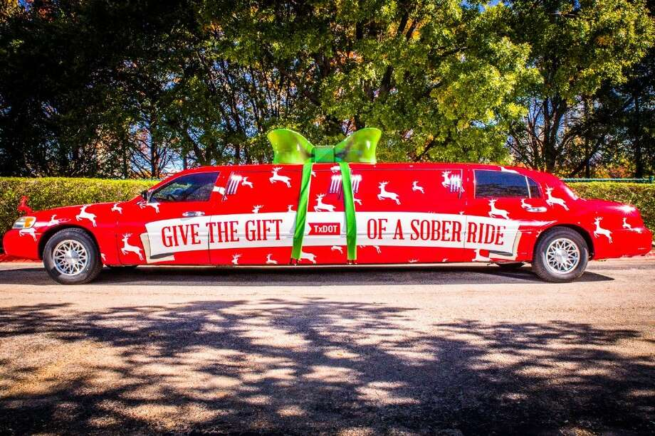 Sober Ride Sleigh glides across Texas to share safe, sober message.