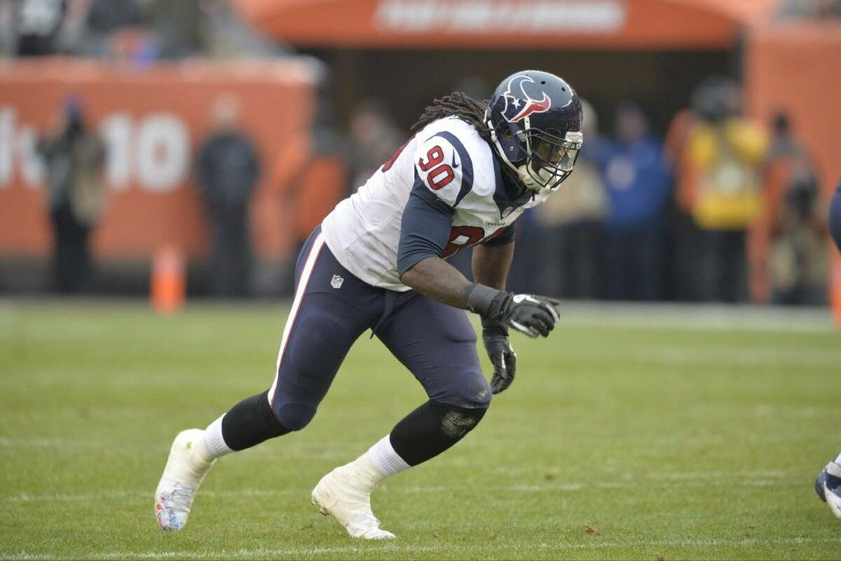 Houston Texans outside linebacker Jadeveon Clowney will likely miss this week's game against Tennessee.