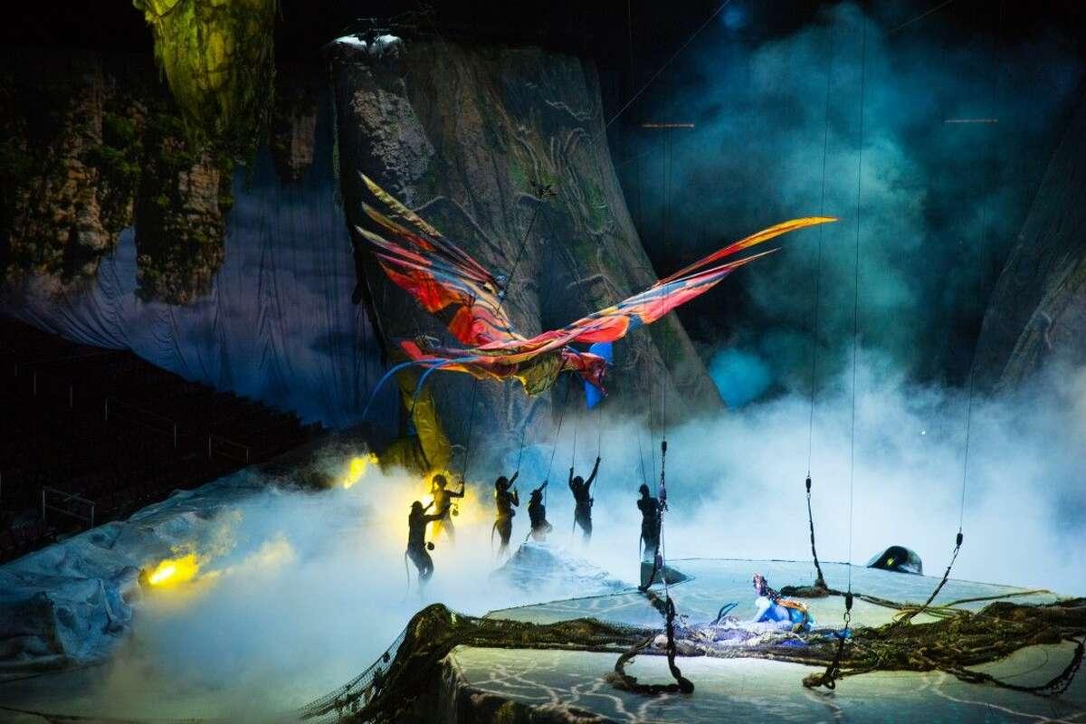 Cirque du Soleil TORUK - The First Flight will come to the Toyata Center Feb. 11-14.