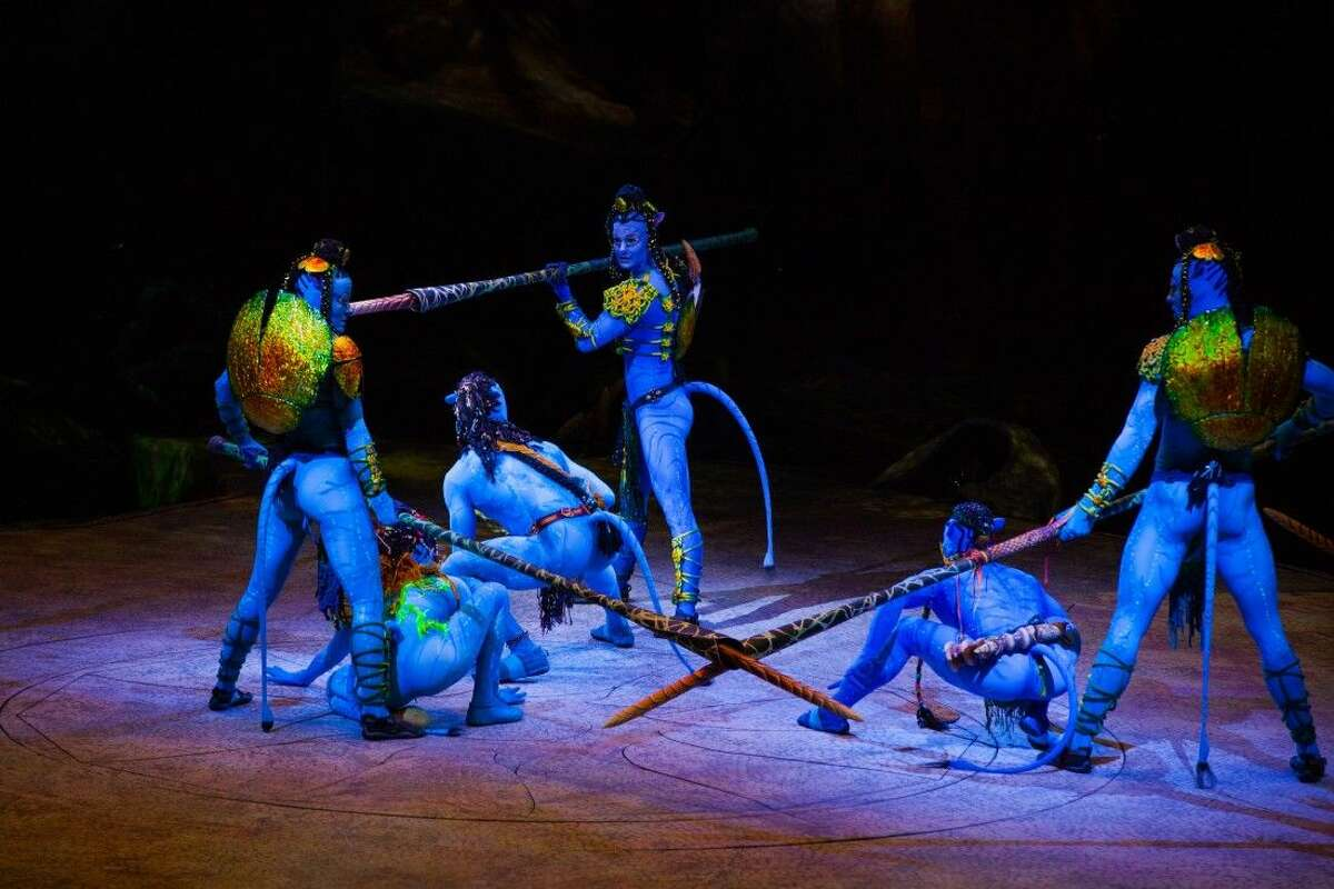 Cirque du Soleil TORUK - The First Flight, based on James Cameron's Avatar, will come to the Toyata Center Feb. 11-14.