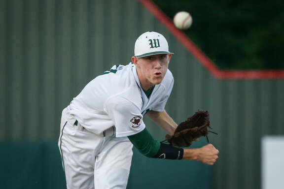 The Woodlands' Devin Fontenot was a first-team all-district selection this season.