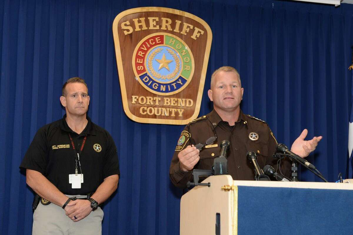 Ft. Bend County Sheriff Troy Nehls and Lead Detective Heinemeyer describe their interview of Jason Sheats, the husband of Christy Sheats, who killed the couple's daughters on June 24 in Katy. Authorities say Jason believes his wife wished to make him suffer by killing their two daughters.