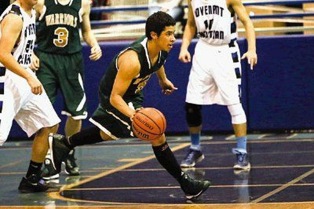 The Woodlands Christian's Azarias Tocabens is averaging more than 16 points per game.