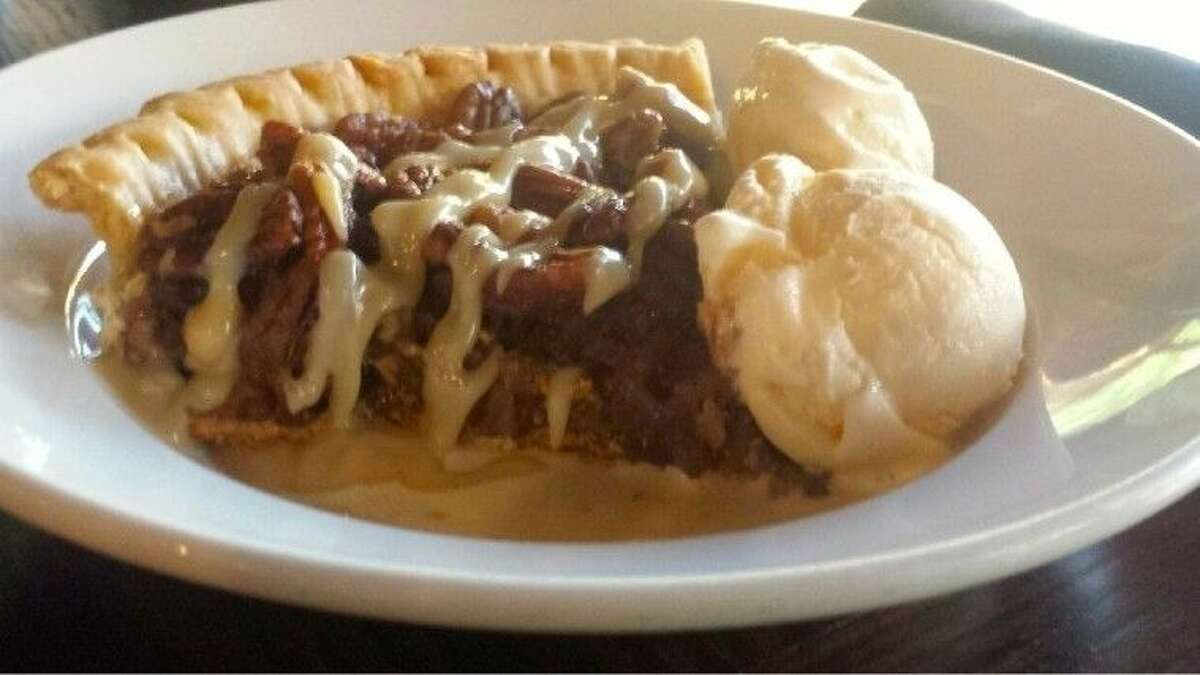Locals rave about the Southern Pecan Pie at The Republic Grille is The Woodlands.