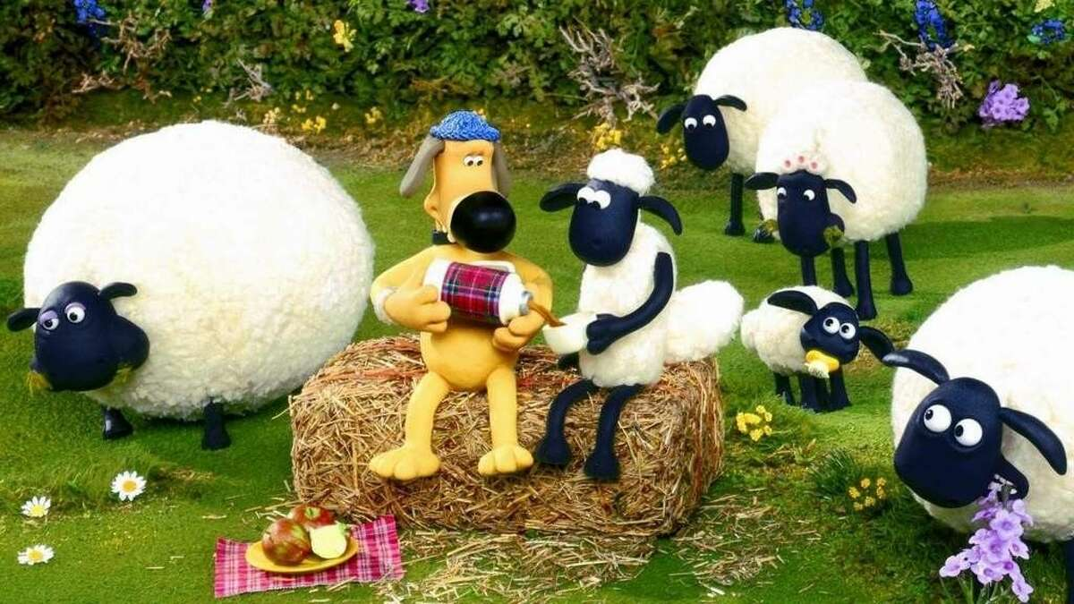 Shaun the Sheep in new to DVD this week.