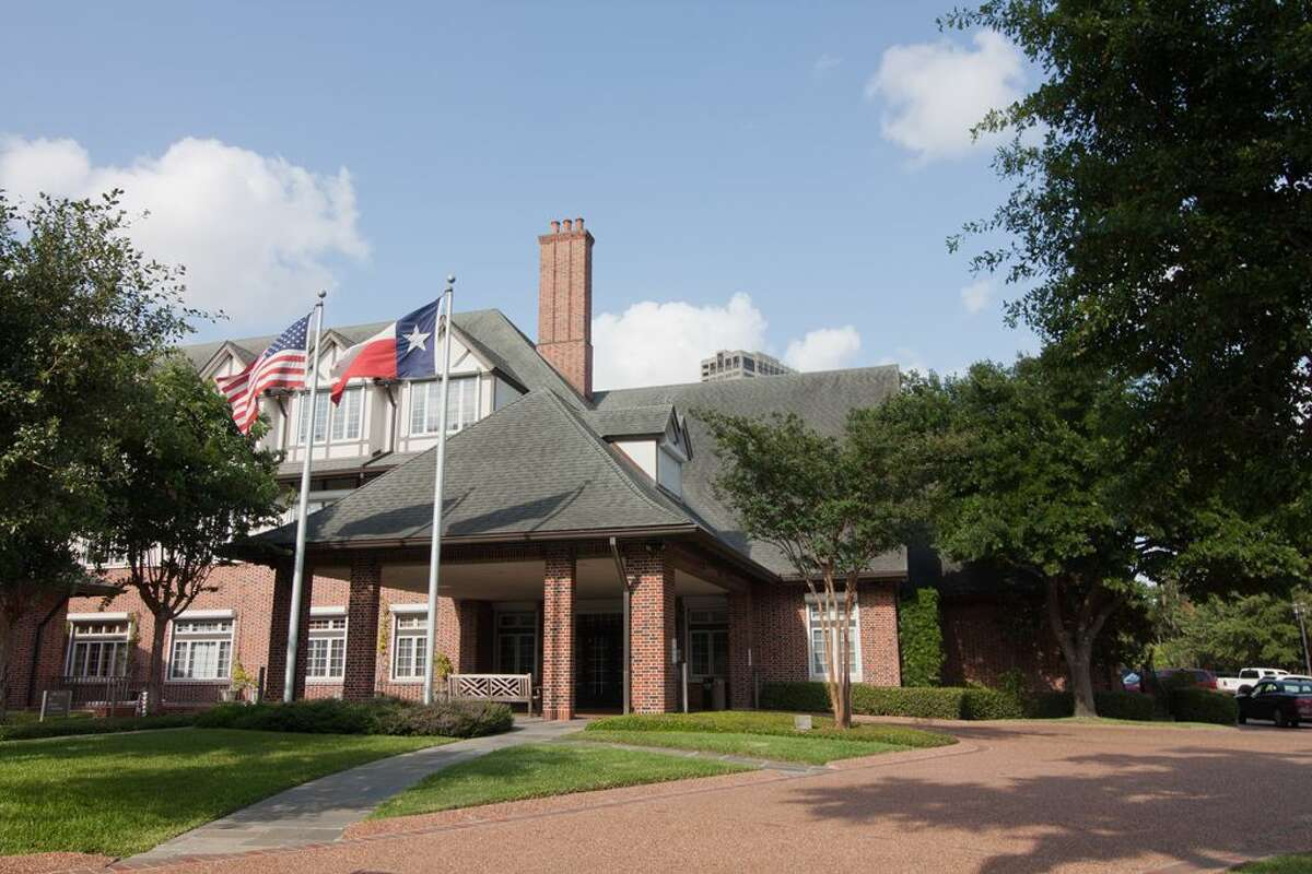Shown here is the entrance to the Houston Hospice Patient Care Center.