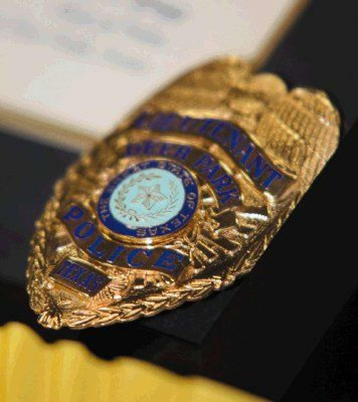 Deer Park Police badge.