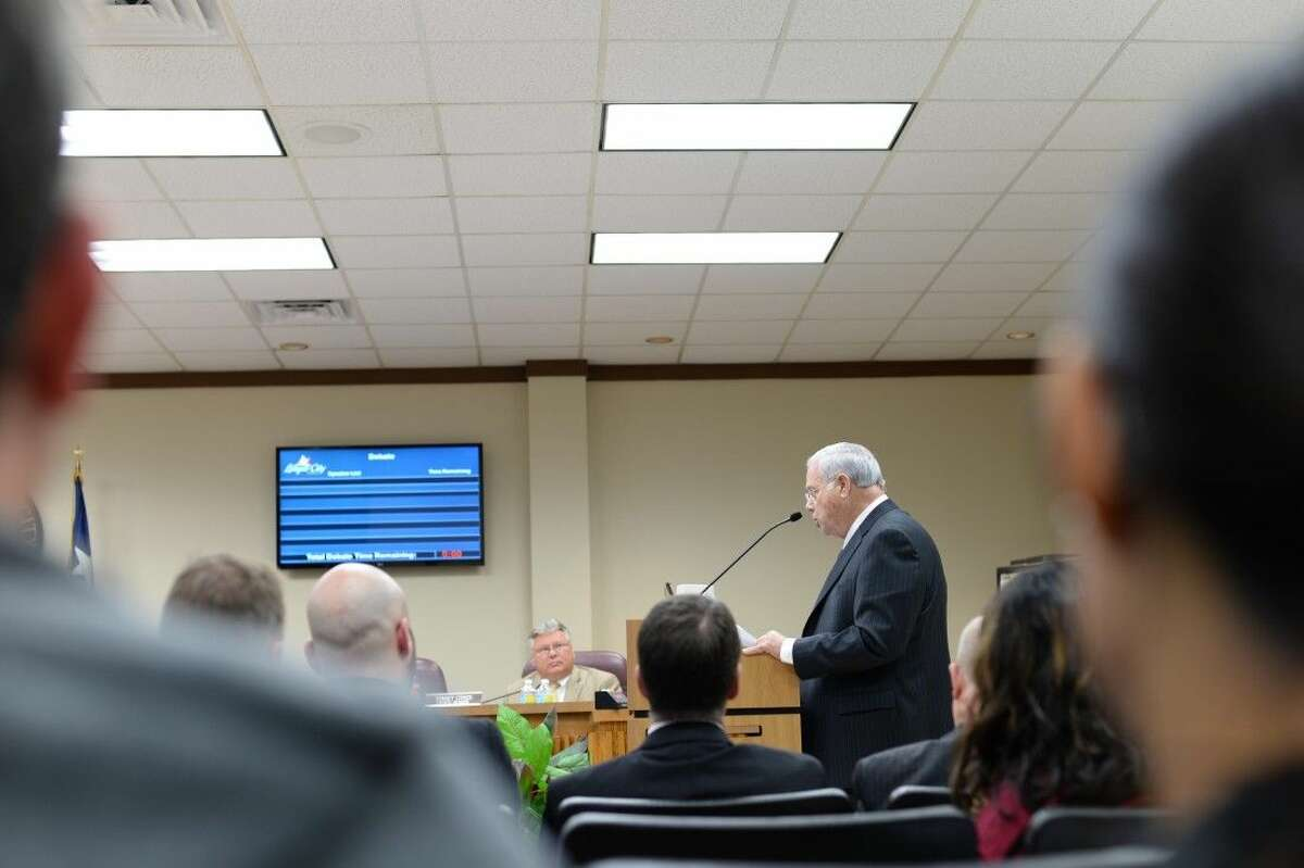 Steve Gauen, representing Boon-Chapman, addressed some concerns expressed by city employees over services.