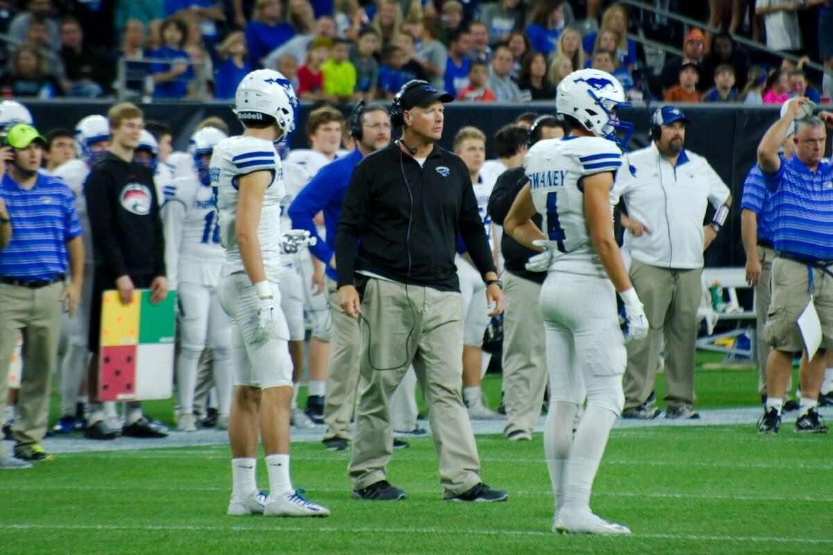 Friendswood head football coach Robert Koopmann hopes his team can win for the second straight week in NRG Stadium, this time against unbeaten Katy.