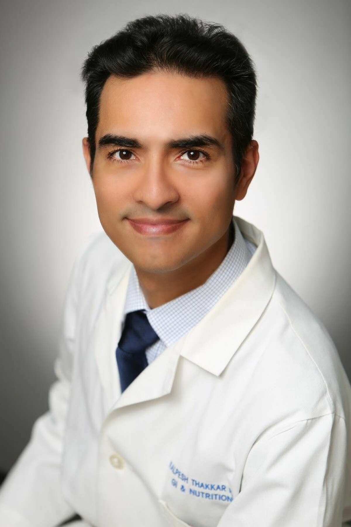 Pictured is pediatric gastroenterologist Kalpesh H. Thakkar, M.D. He joined the Memorial Hermann Medical Group Multi-Specialty Clinic Sugar Land. Dr. Thakkar also sees patients on Wednesdays at Memorial Hermann Medical Group Wharton.