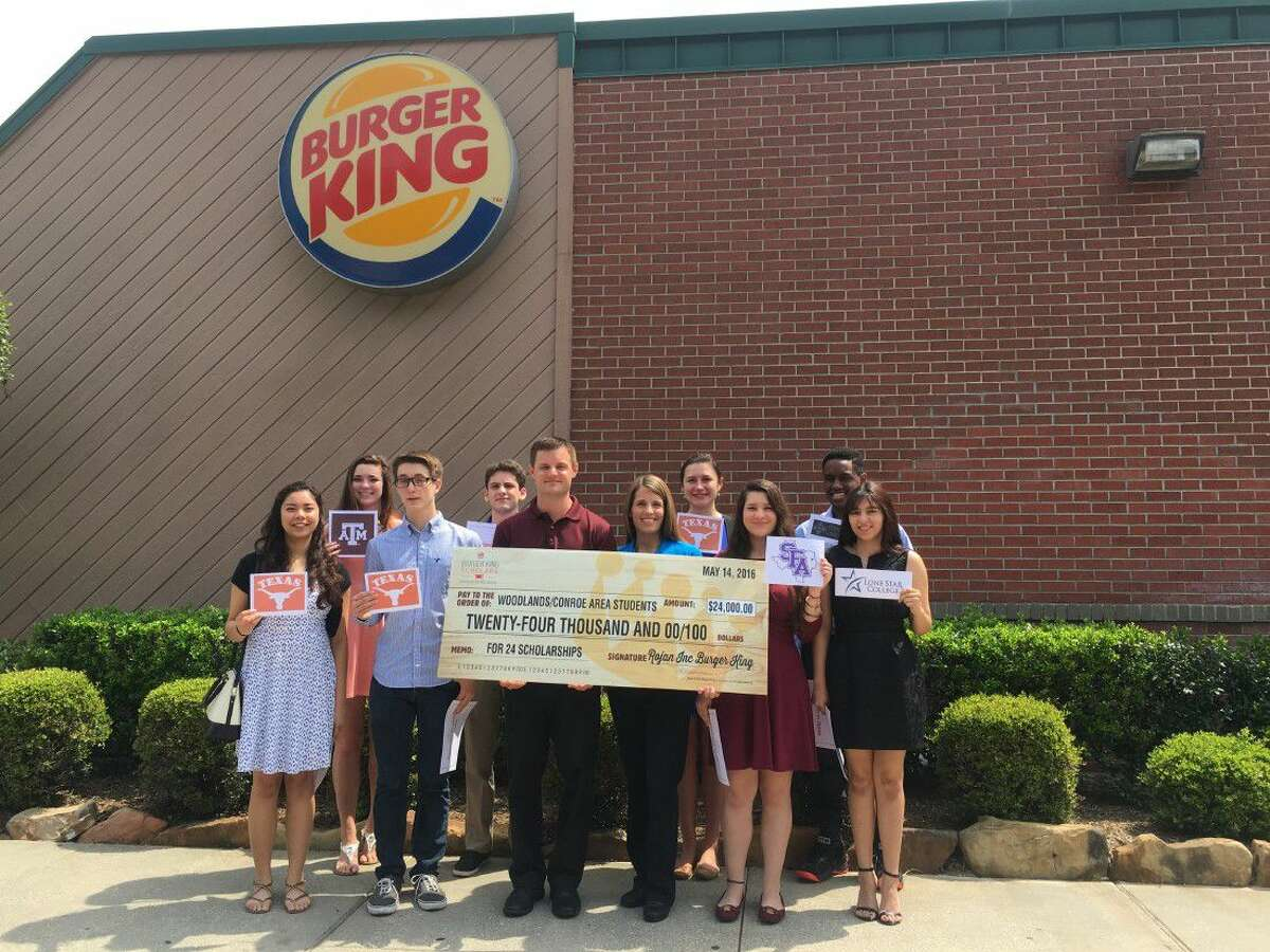 This year's scholars attended an awards luncheon and check presentation on May 14.
