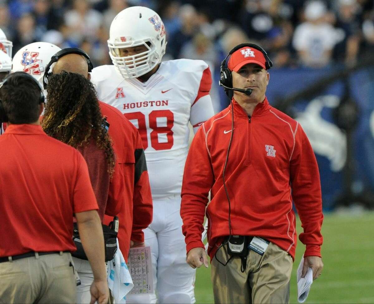 University of Houston head football coach Tony Levine has been relieved of his duties after three years with the Cougars, Houston Vice President of Intercollegiate Athletics Mack Rhoades announced Monday morning.